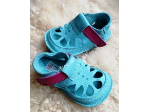 baby bare shoes sandals summer flower