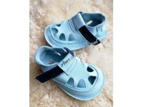 baby bare shoes sandals summer aqua