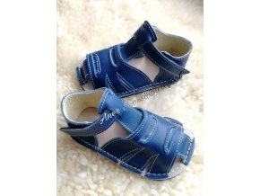 Zeazoo sandály Shell Blue a