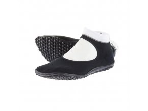 Leguano barefoot ballerina 01 black white