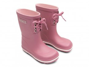 432 bundgaard classic rubber boot lace old rose