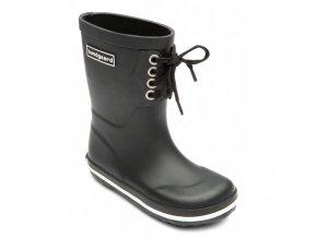 Bundgaard classic rubber Boot Lace Black