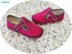 barefoot beda papuce malina