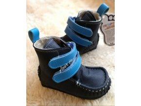 Zeazoo Yeti sheepskin blue