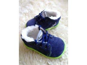 Beda barefoot zima pro nejmenší tkaničky Marcus 1