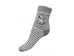 ponožky termo Knebl Hosiery pes