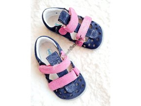 Beda barefoot sandálky Oceal Shine 2