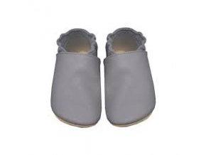 Babice barefoot capáčky šedá BA088