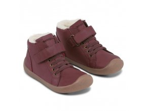 bundgaard walker mid lace plum 2