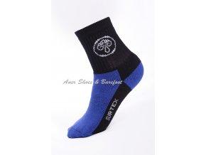 ponožky Surtex detske modra cerna