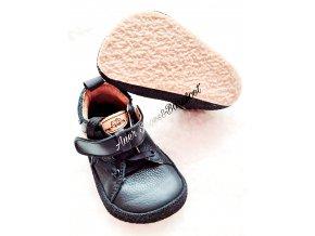 Pegres barefoot celokožené dětské boty BF32