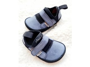 Pegres barefoot lycrové tenisky blue