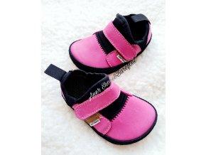 Pegres barefoot lycrové tenisky pink