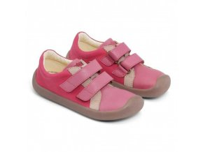 bundgaard the walk velcro pink barefoot 1
