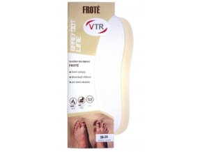 vlozky do bot barefoot frote