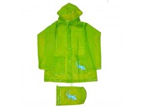 pidilidi plastenka salamander + pytlik PL0045 19 zelena