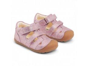 Bundgaard petit sandal barefoot pink 1