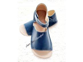 Zeazoo barefoot Coral Navy sandálky 1