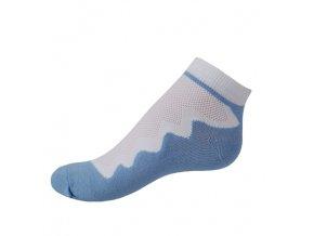 Vseproboty ponožky modrá baby blue