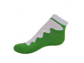 Vseproboty ponožky zelená green