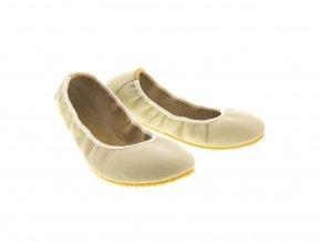 Pathik Shoes baleríny Amelíny béžové