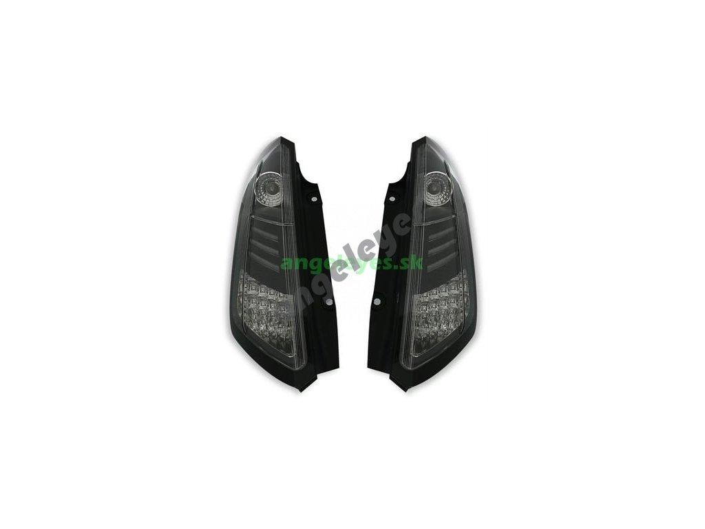 Fiat Grande Punto zadné LED svetlá čierne od rv 2005