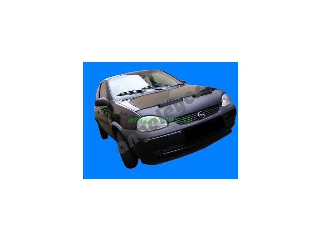 Opel Corsa B kožený kryt kapoty, rv. 93-00