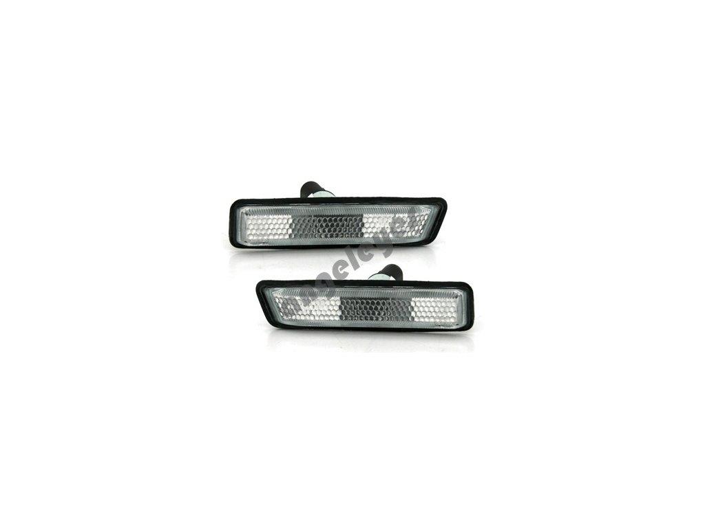 Bočné smerovky biele pre BMW E36, X5