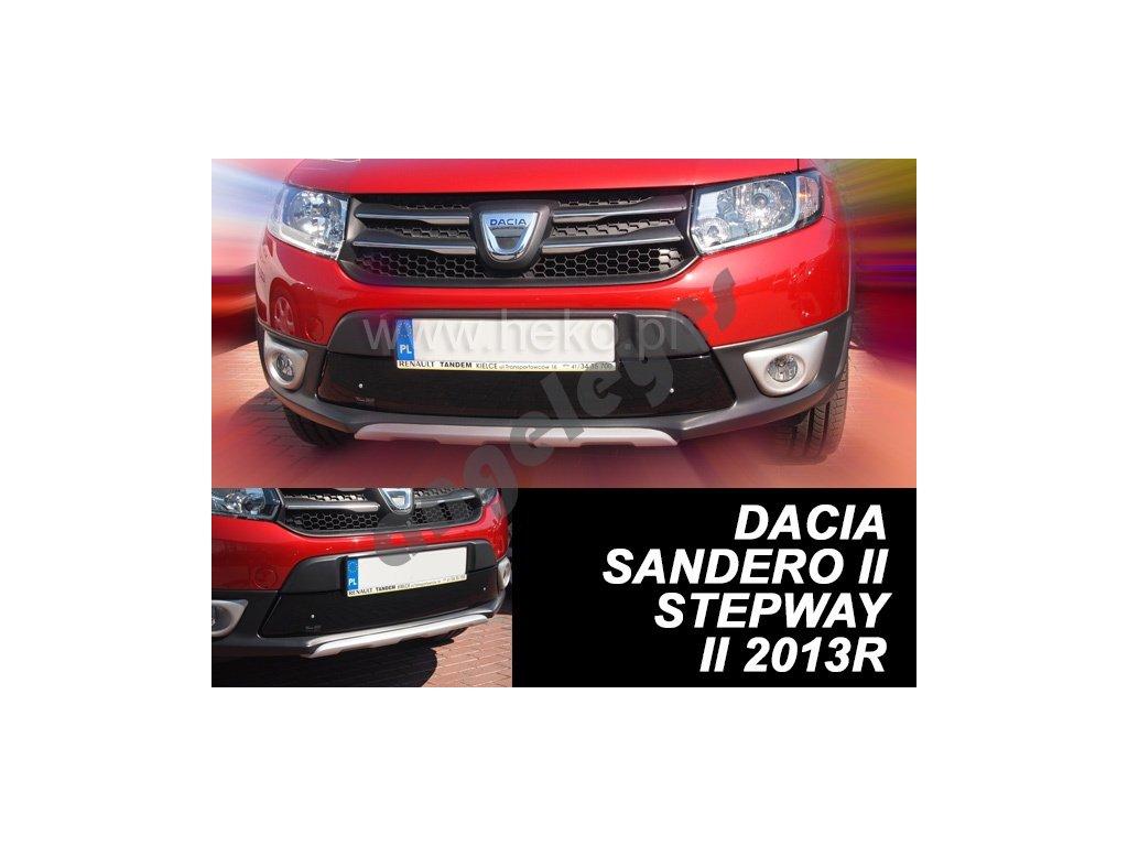 Zimná clona Dacia Sandero/Stepway, Dacia Logan