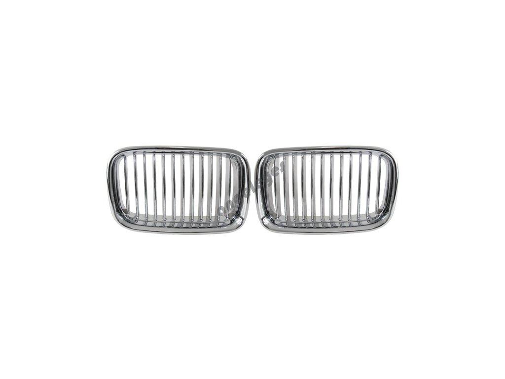 BMW E36 do rv.96 predná maska chrómová