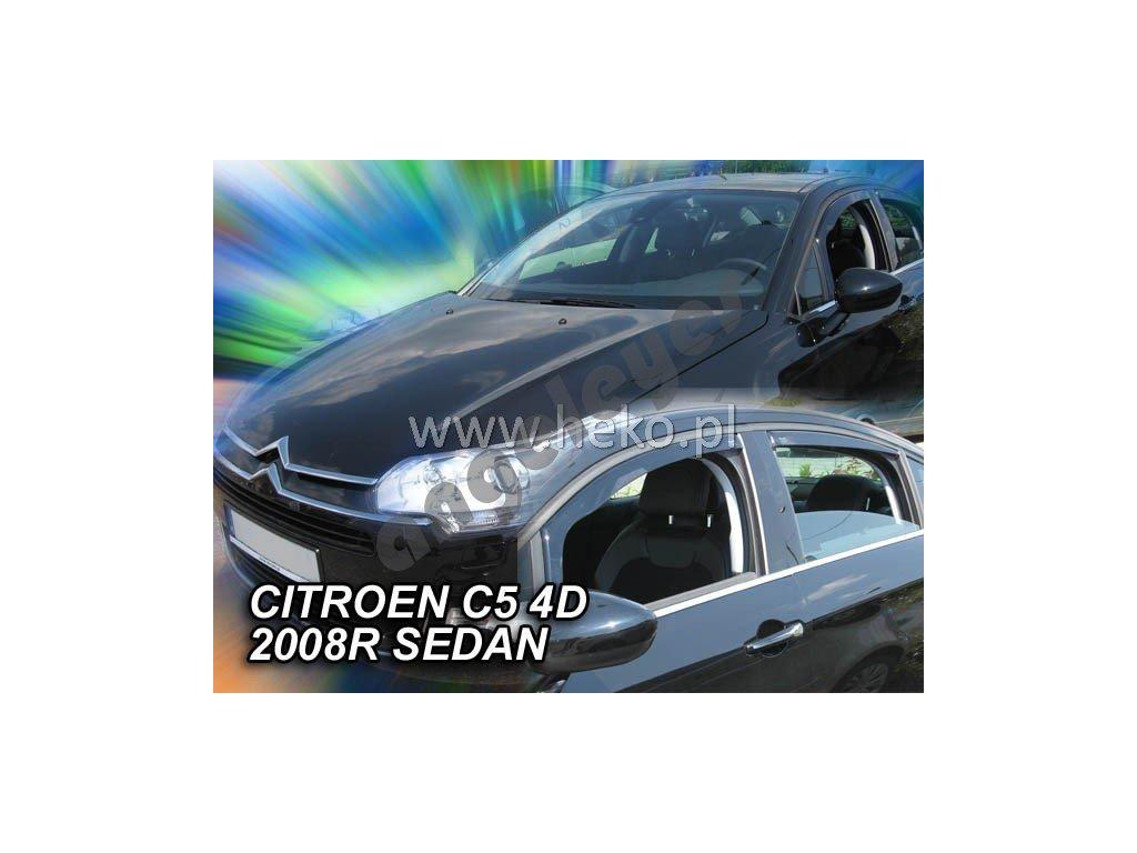 Deflektory na okná pre Citroen C5, 2ks