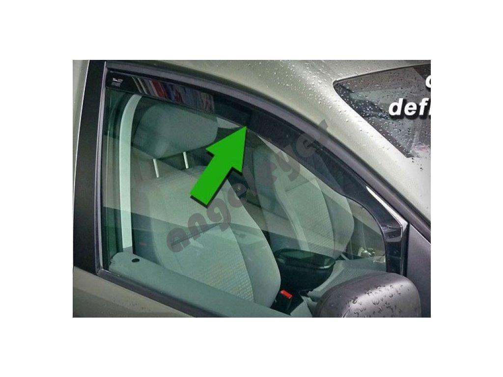 Deflektory na okná pre Citroen C5, 4ks