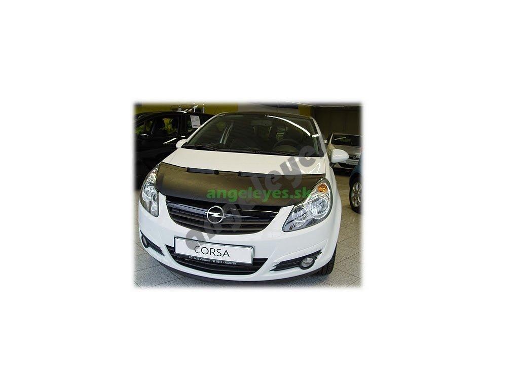 Opel Corsa D kryt kapoty