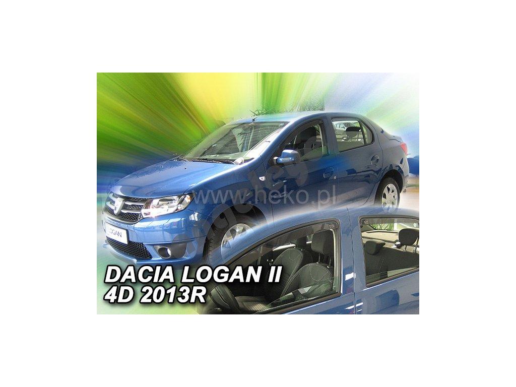 Deflektory na okná pre Dacia Logan II/Dacia Logan MCV, 2ks
