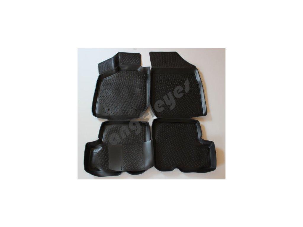 Gumené vaničkové rohože pre Dacia Sandero