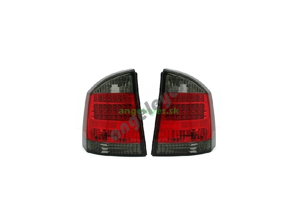 Opel Vectra C LED červeno-čierne
