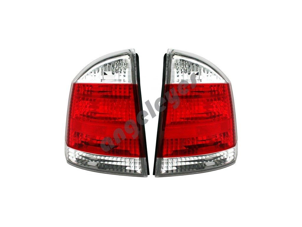 Opel Vectra C 01- zadné červeno-biele