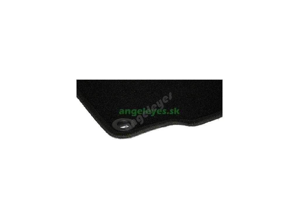 Opel Zafira čierne koberce