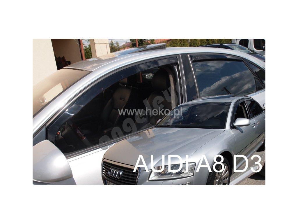 Deflektory na okná pre Audi A8 (D3), rv. 03-10, 4ks
