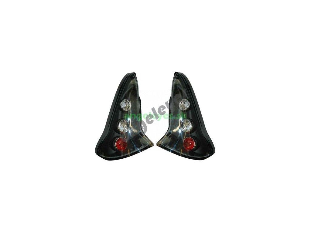 Zadné svetlá pre Citroen C4 čierne
