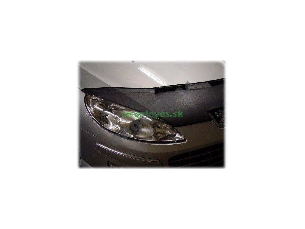 Peugeot 407 kožený kryt kapoty