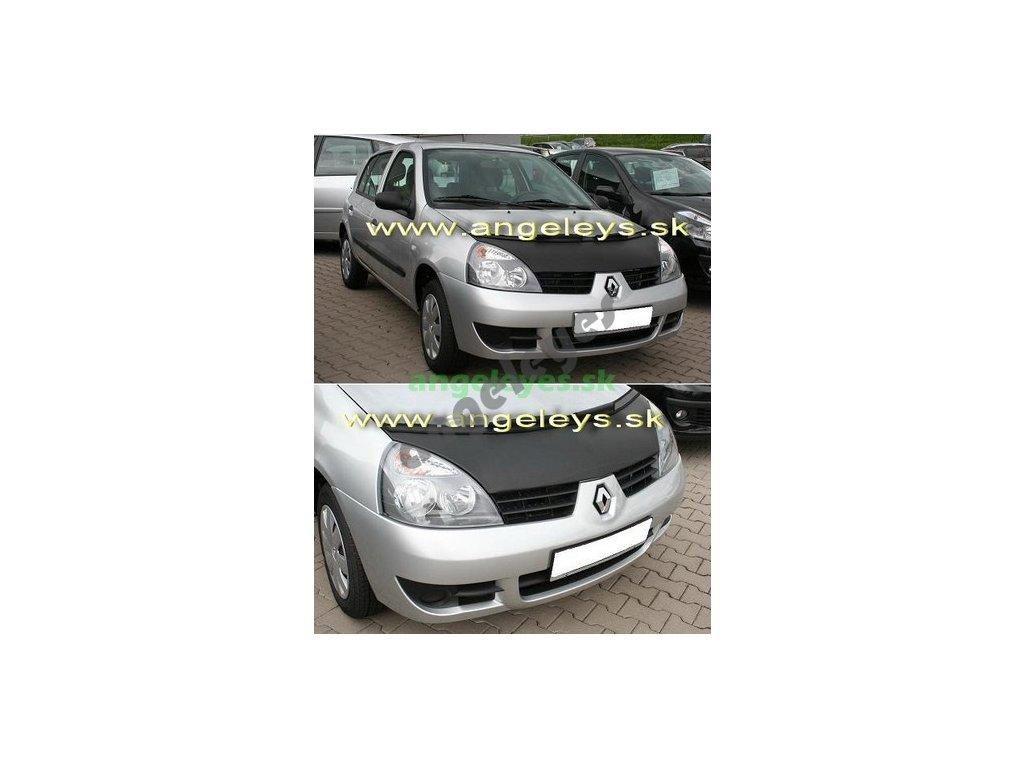 Renault Clio kožený kryt kapoty, rv. 01-05
