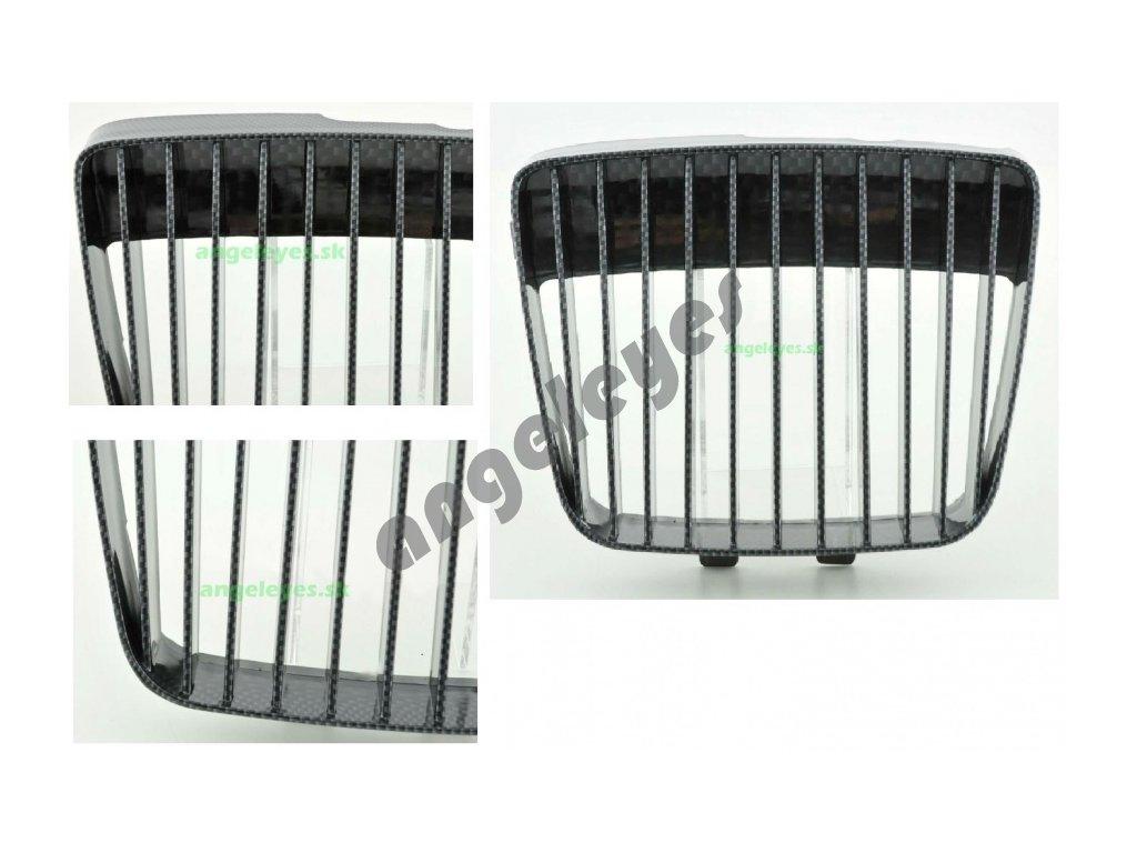 Predná carbón maska pre Seat Ibiza rv. 99-02