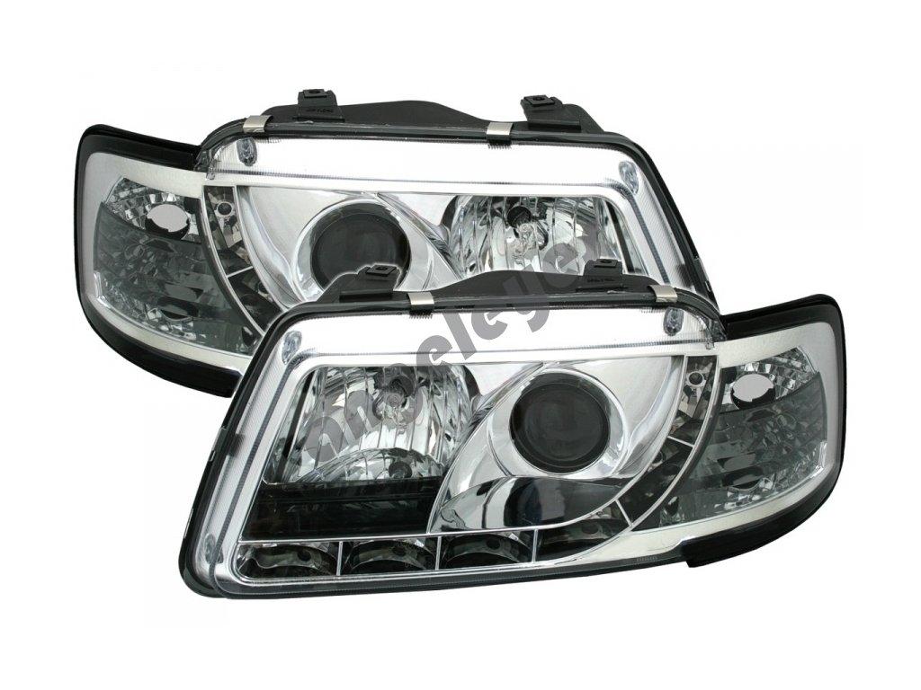 Audi A3 rv.96-00 svetlá Devil Eyes chrómové
