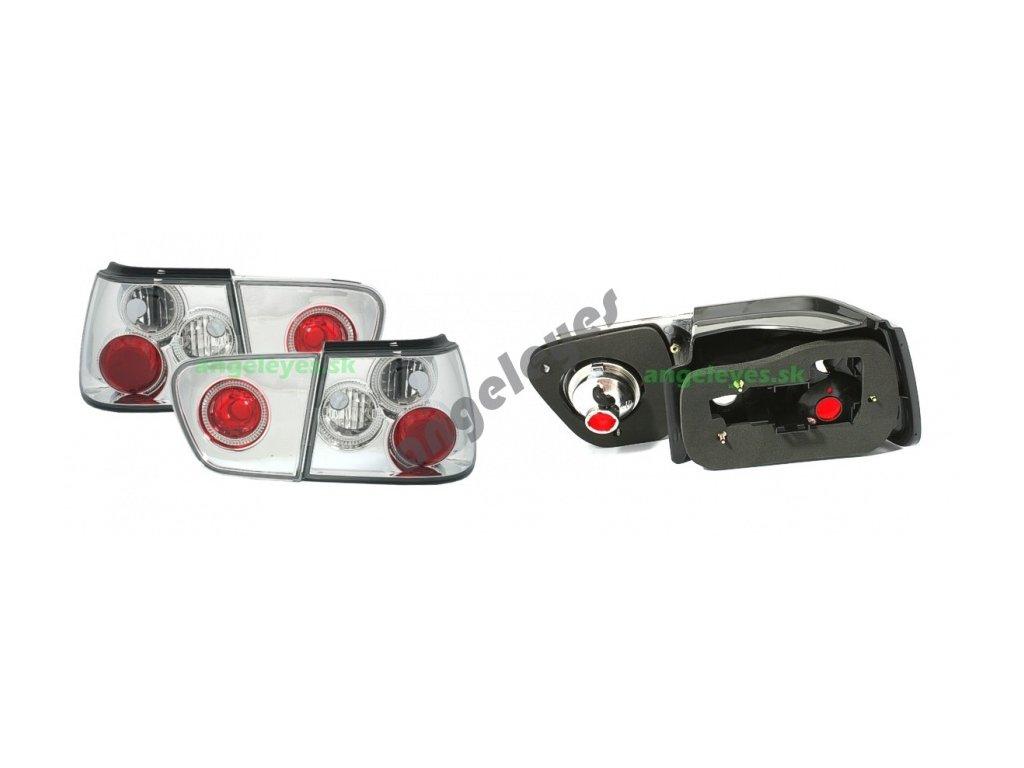Zadné svetlá pre Seat Ibiza rv. 99-02 chrómové