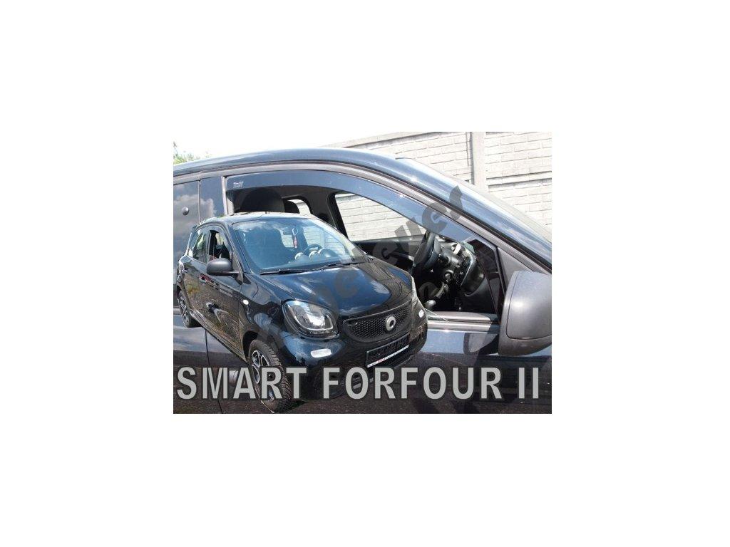 Deflektory na okná pre  Smart Forfour II