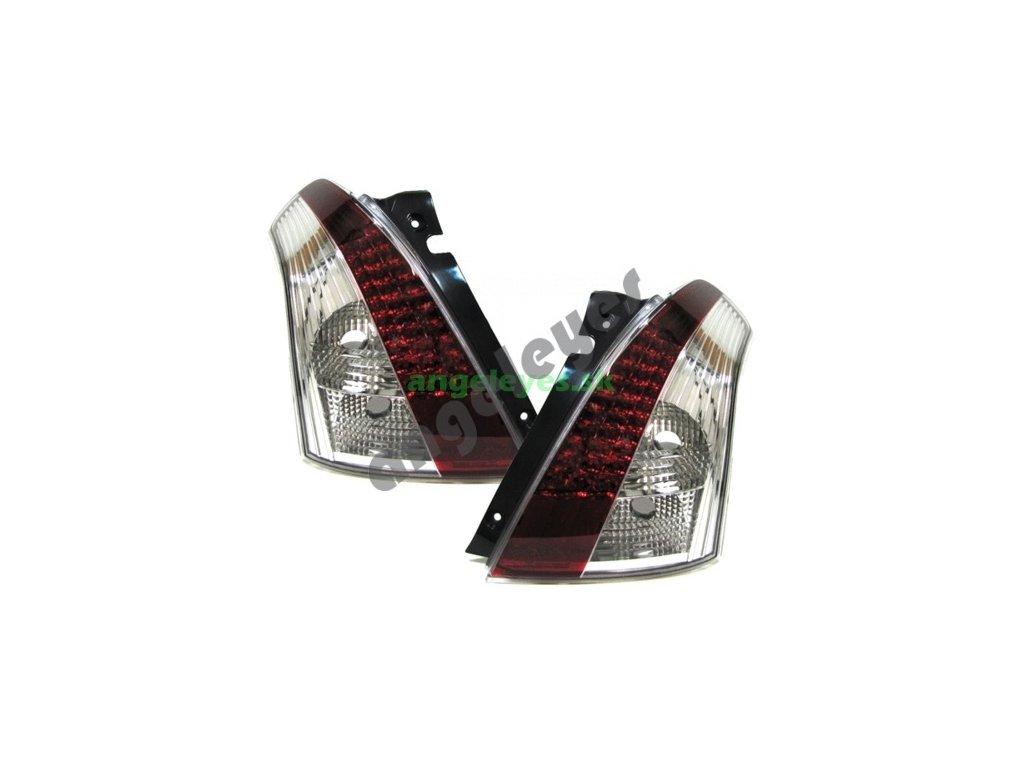 Suzuki Swift zadné LED červeno-číre svetlá, rv. 05-10