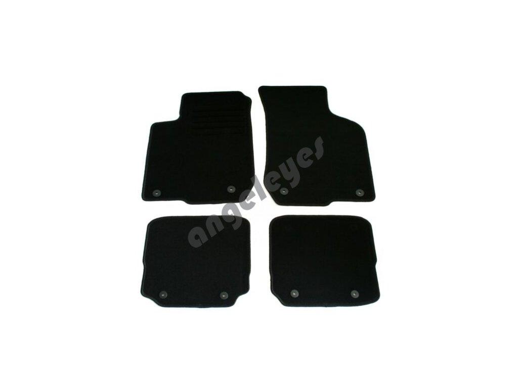Čierne koberce pre Audi A3 8L