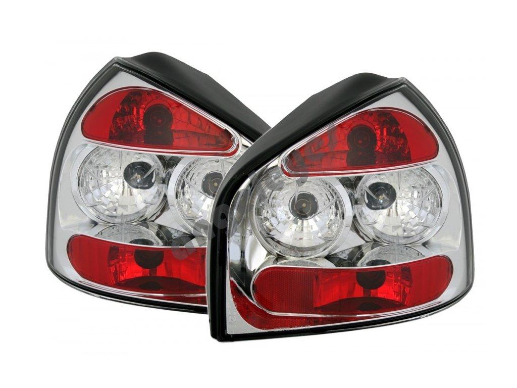 Zadné svetlá pre Audi A3 8L chrómové