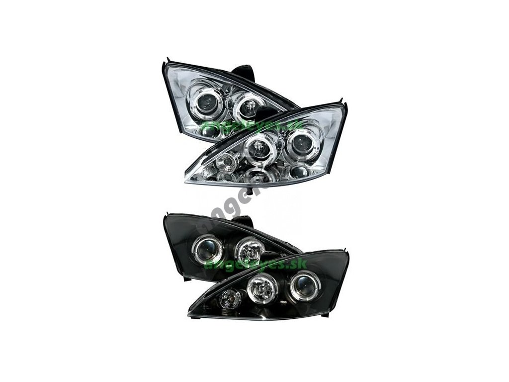 Predné svetlá Angel Eyes H1 Focus 98-01